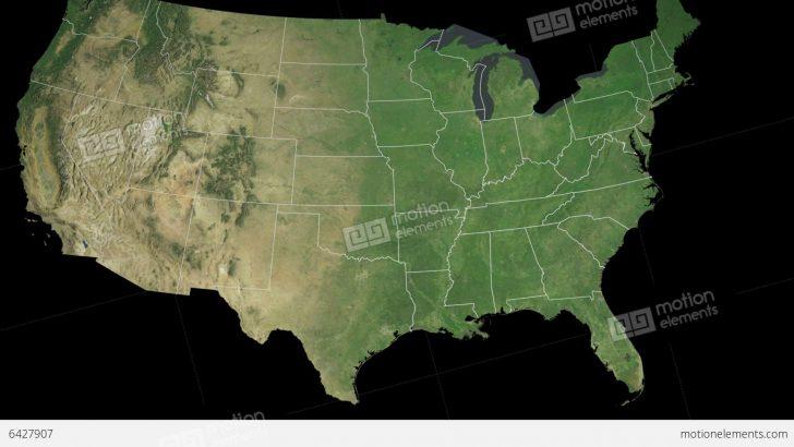 Satellite Map Of Florida