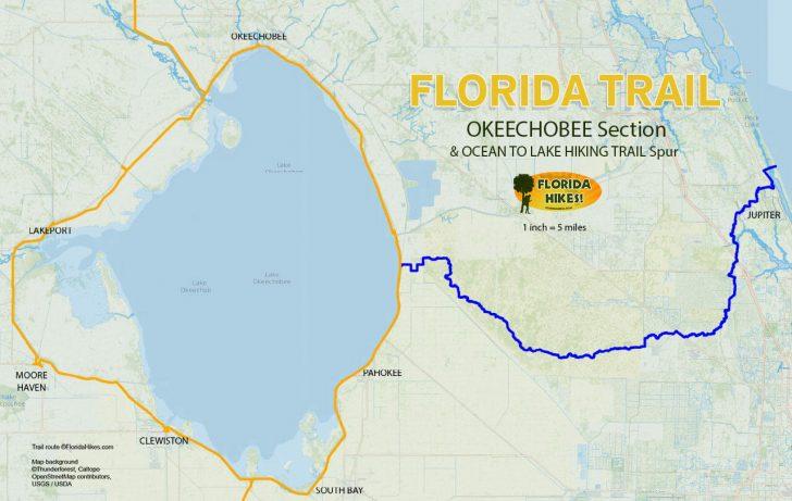 Lake Okeechobee Florida Map
