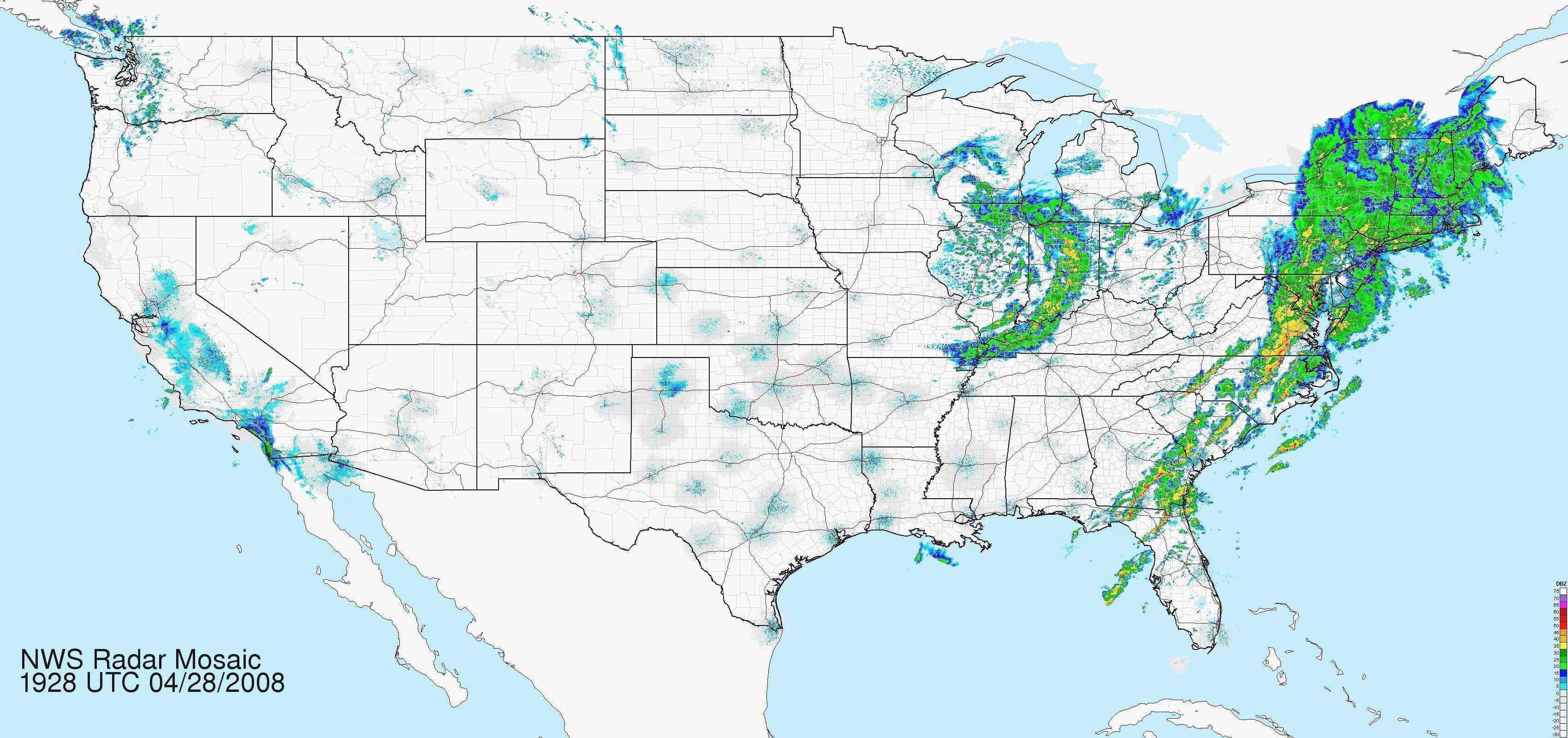 Florida Weather Radar Map - Florida Weather Map In Motion