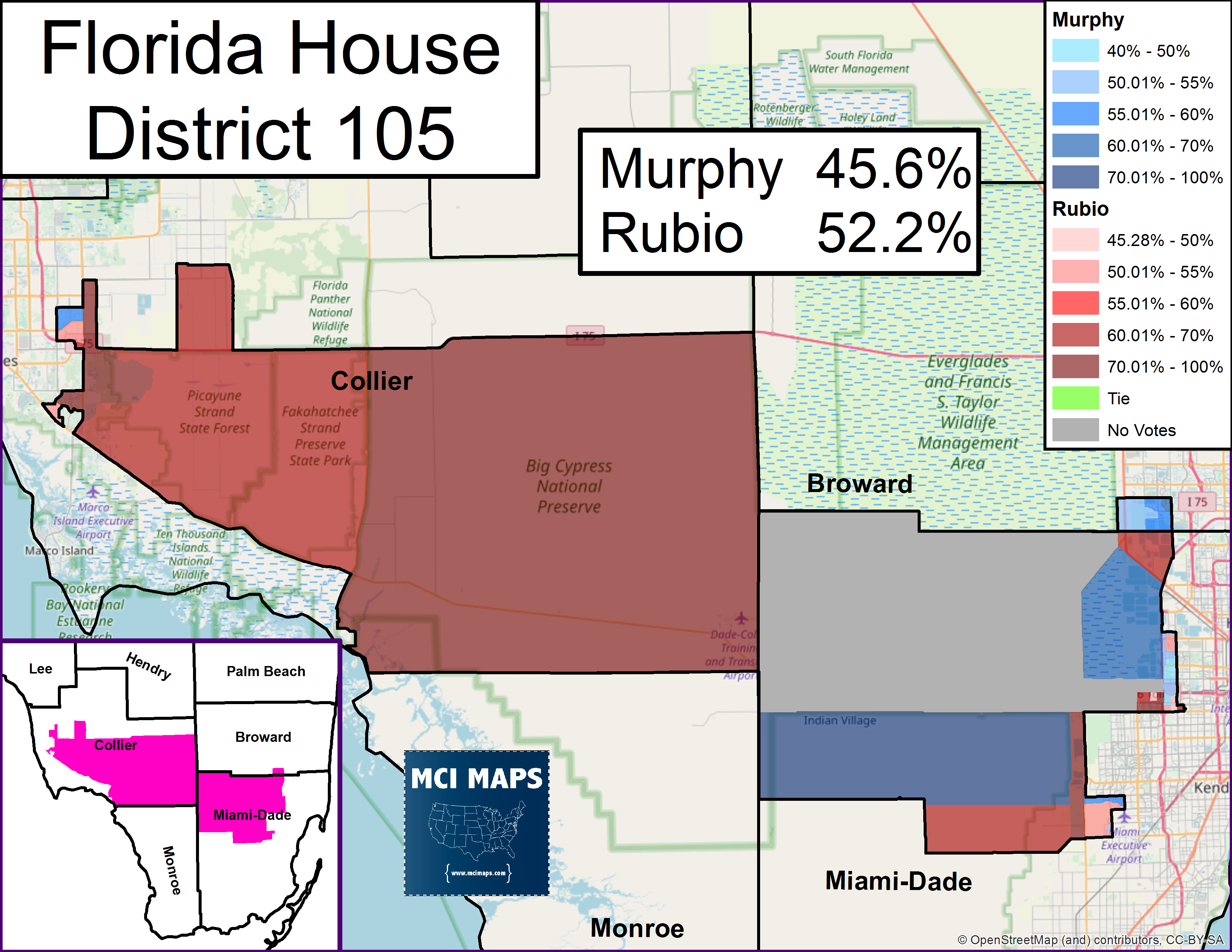 Florida's 2018 State House Ratings – Mci Maps - Florida House District 115 Map