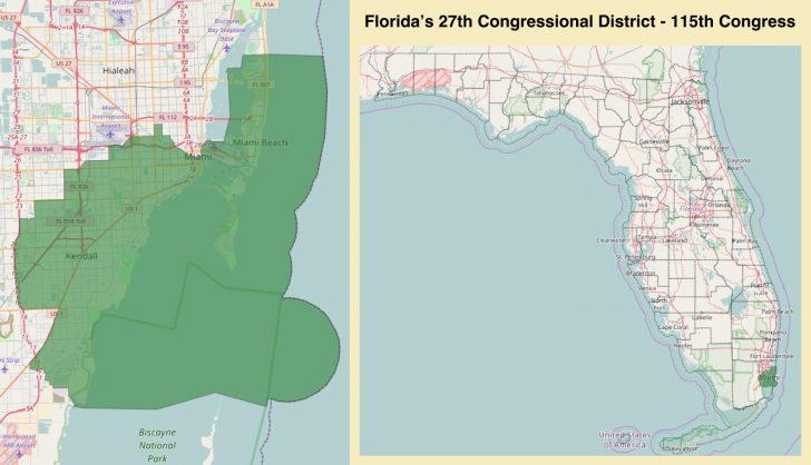 Florida Congressional District Map