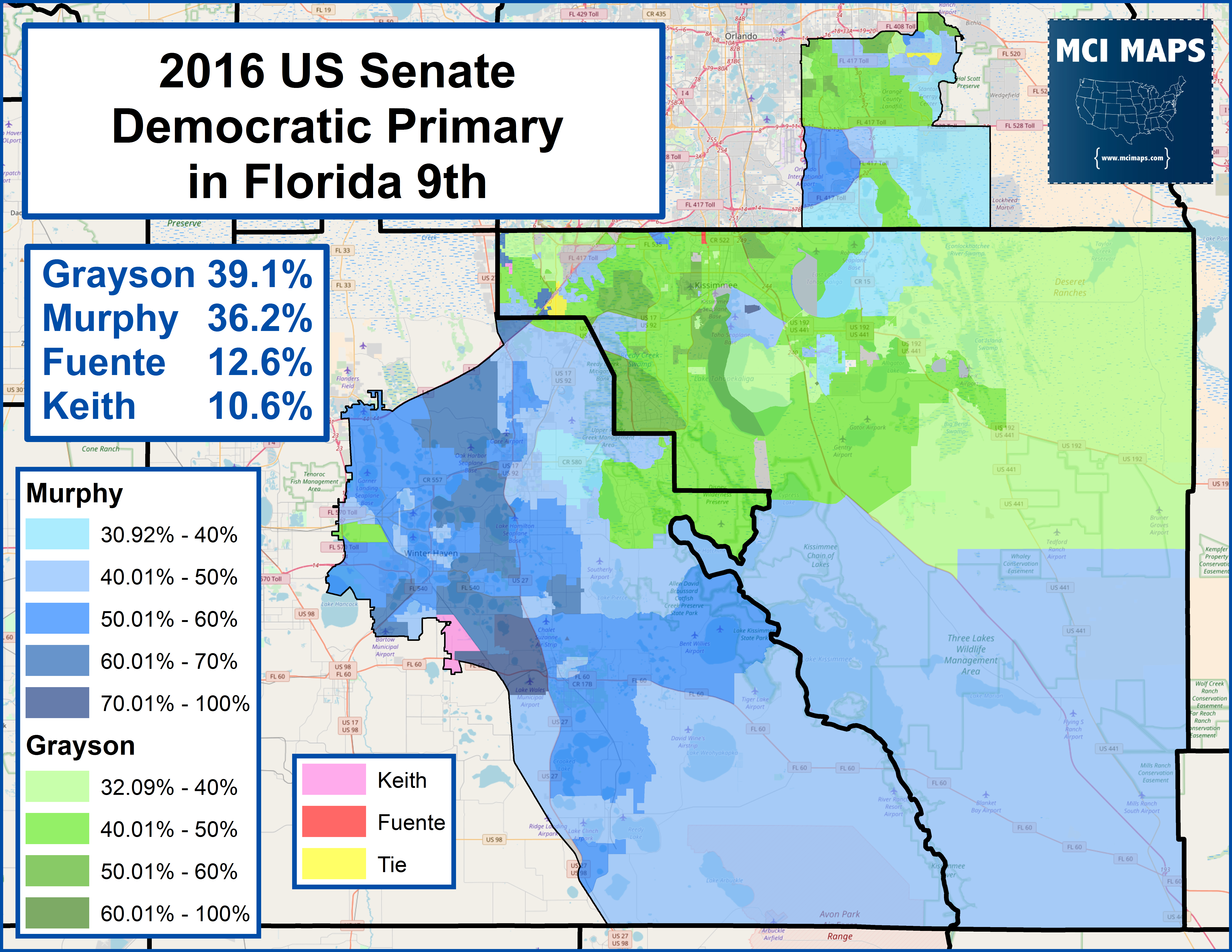 Florida's Congressional District Rankings For 2018 – Mci Maps - District 27 Florida Map