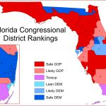 Florida's Congressional District Rankings For 2018 – Mci Maps   Florida Congressional Districts Map 2018
