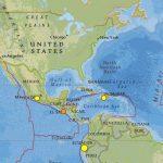 Florida's Earthquake History And Tectonic Setting   Florida Earthquake Map