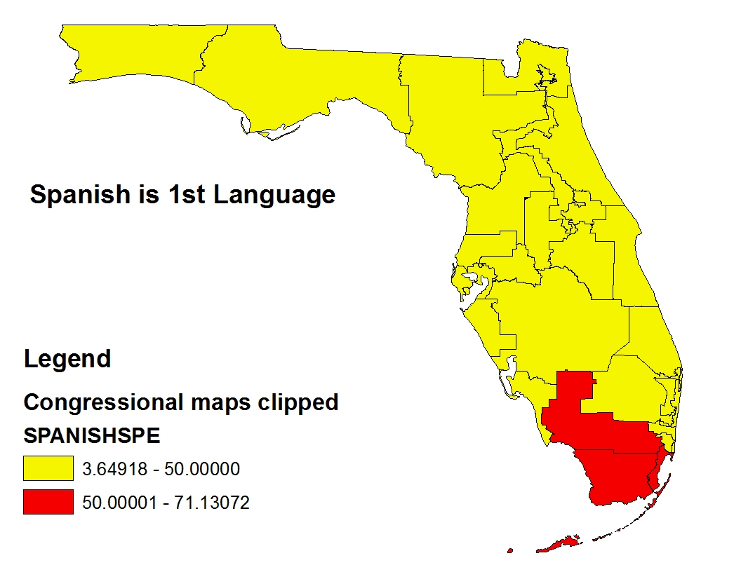 Florida's New Congressional Map « Mattsmaps - Florida Snake Problem Map