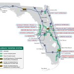 Florida's Turnpike   The Less Stressway   Map Of S Florida