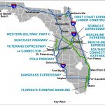 Florida's Turnpike   The Less Stressway   Yeehaw Junction Florida Map