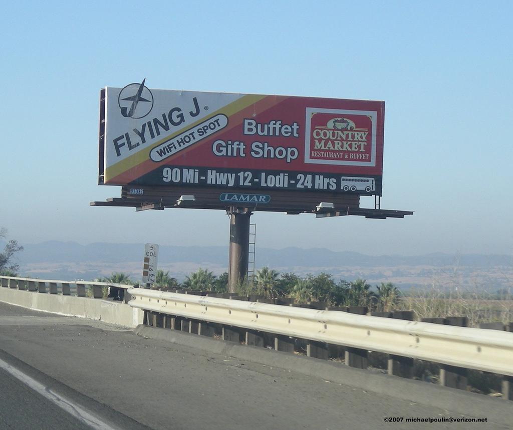 Flying J Country Market Billboard Lodi California Intersta… | Flickr - Flying J California Map