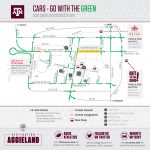 Football Parking & Information   Texas A&m Parking Lot Map