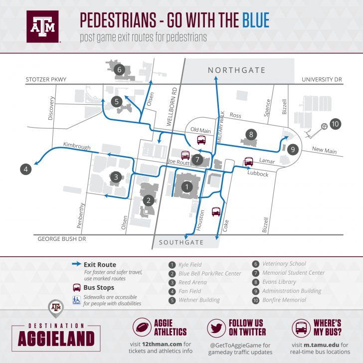 Texas A&m Parking Map