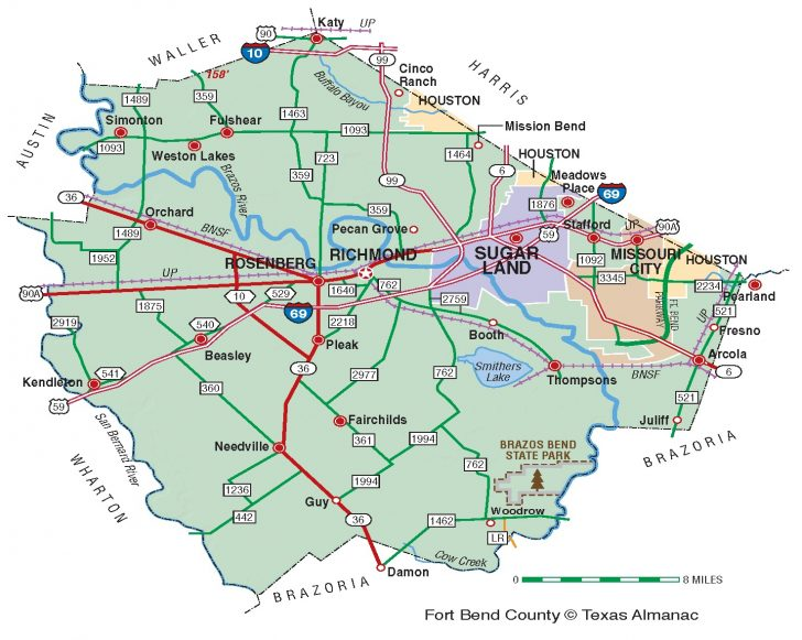 Katy Texas Map