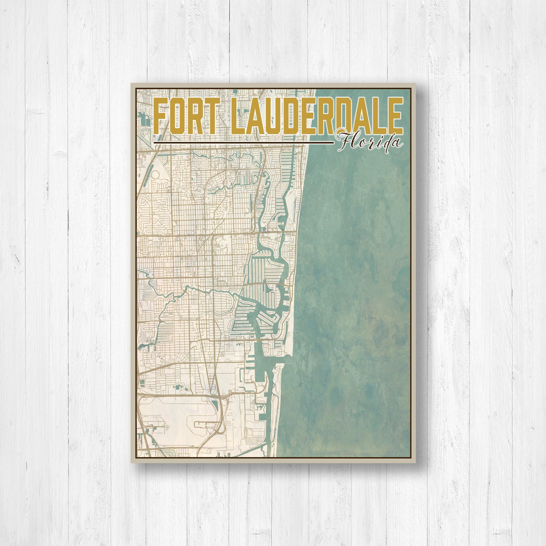 Fort Lauderdale, Florida, Fort Lauderdale City Map, Map Of Fort - Street Map Of Fort Lauderdale Florida