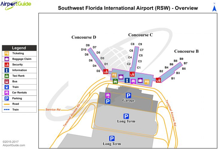 Florida Airports Map