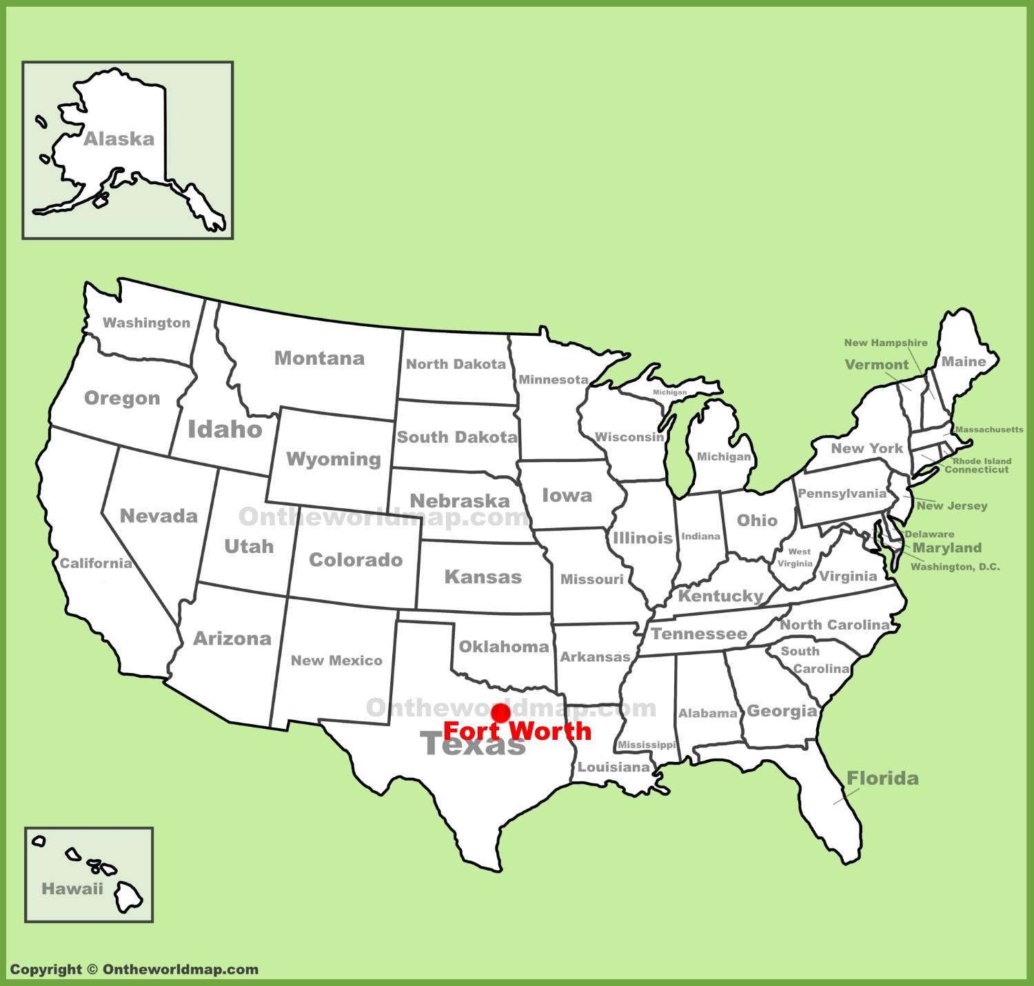 Fort Worth Maps | Texas, U.s. | Maps Of Fort Worth - Where Is Fort Worth Texas On A Map
