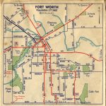 Fort Worth Street Map C1940 | Foat Wuth I Luv U! | Pinterest | Fort   Street Map Of Fort Worth Texas