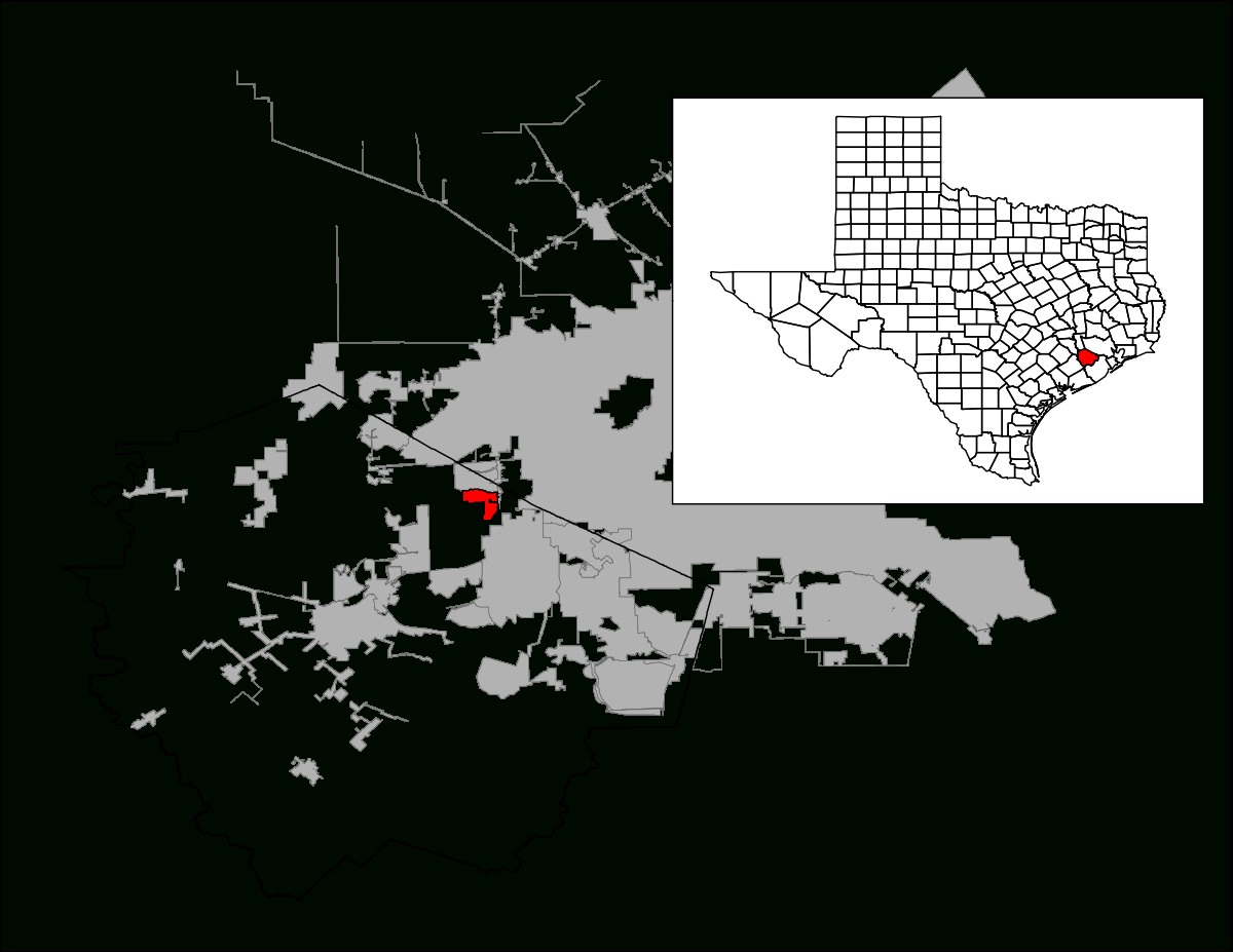 Four Corners, Texas - Wikipedia - Richmond Texas Map
