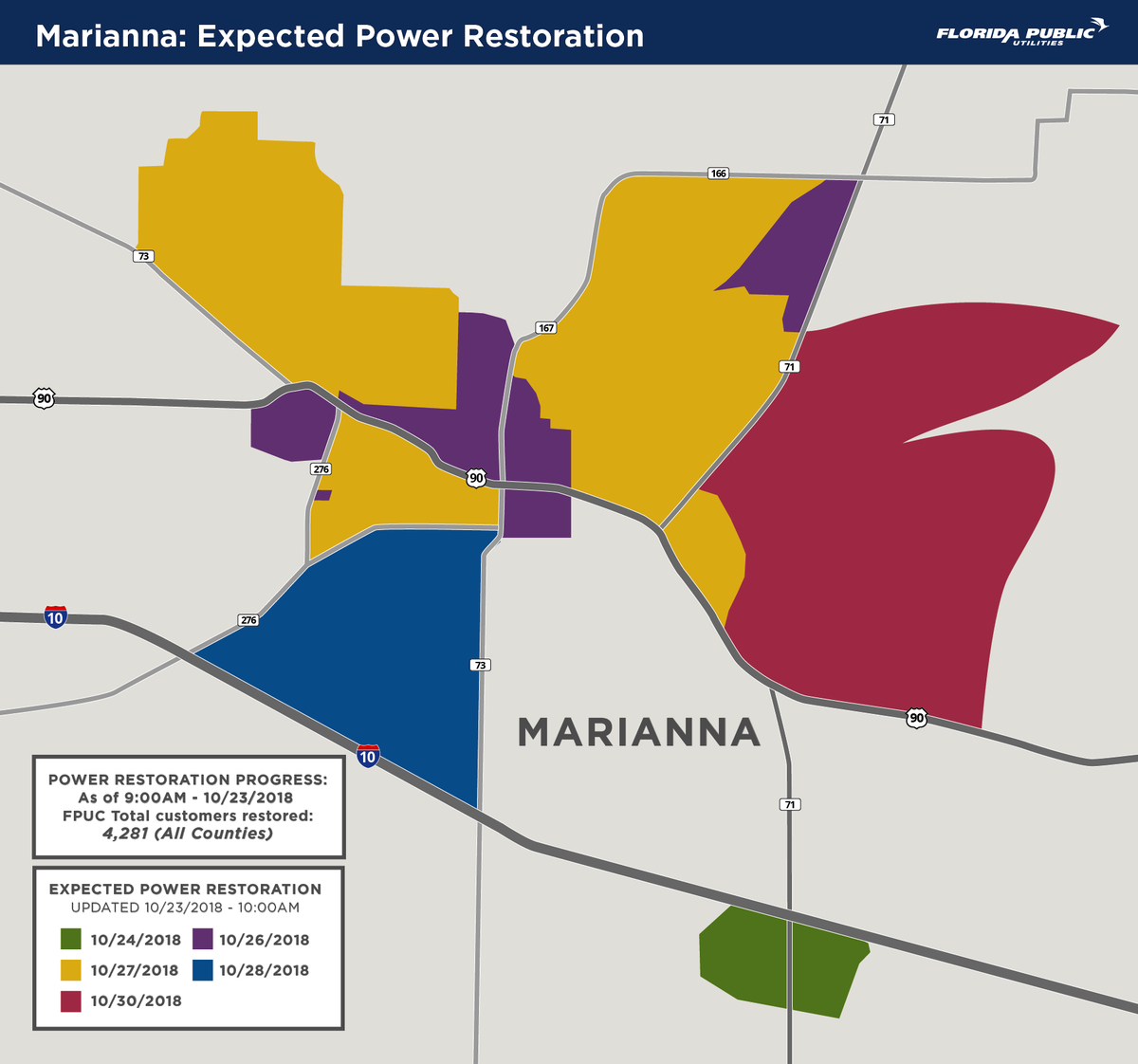 Fpuc (@fpucfl) | Twitter - Florida Public Utilities Power Outage Map