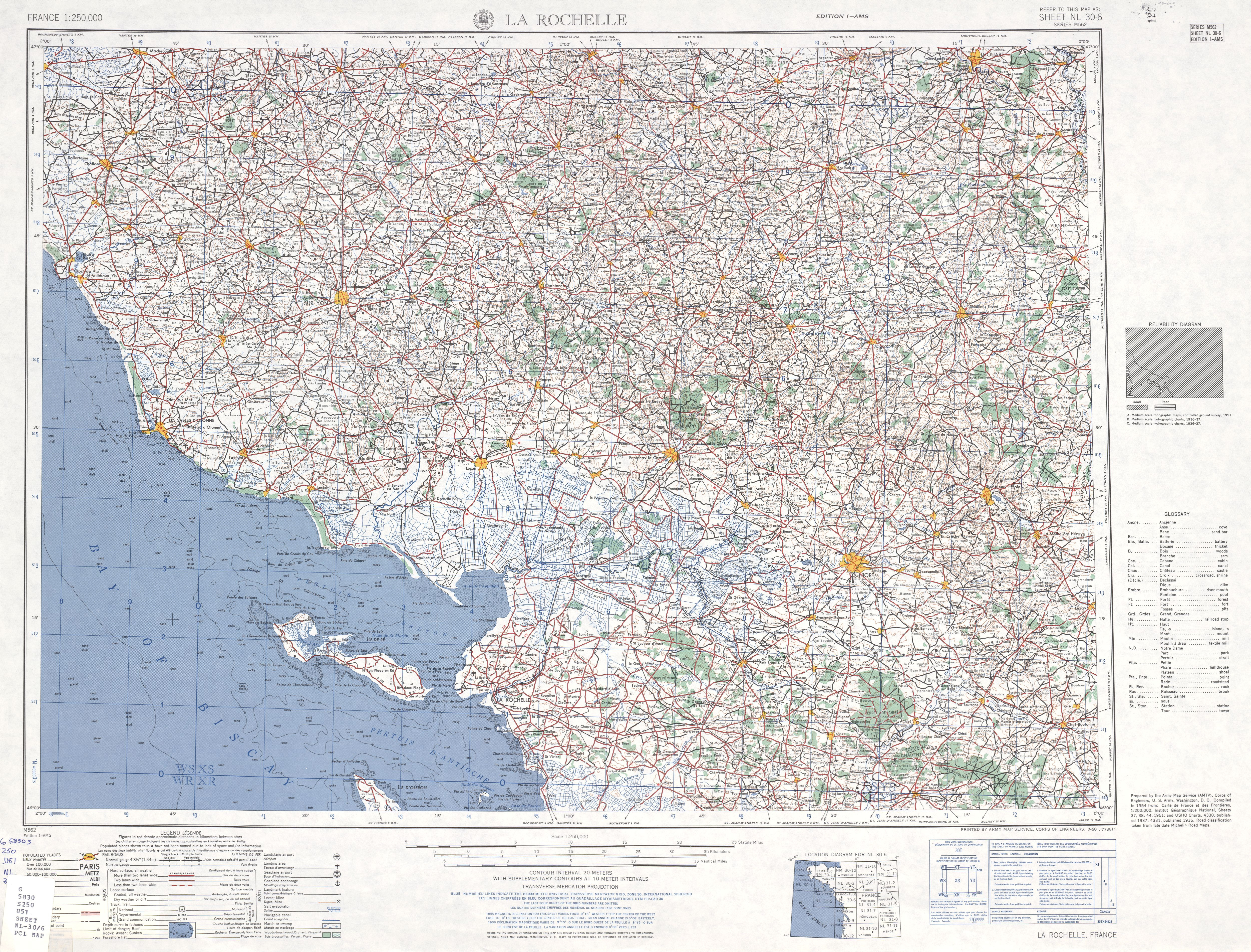 France Ams Topographic Maps - Perry-Castañeda Map Collection - Ut - Printable Topo Maps Online