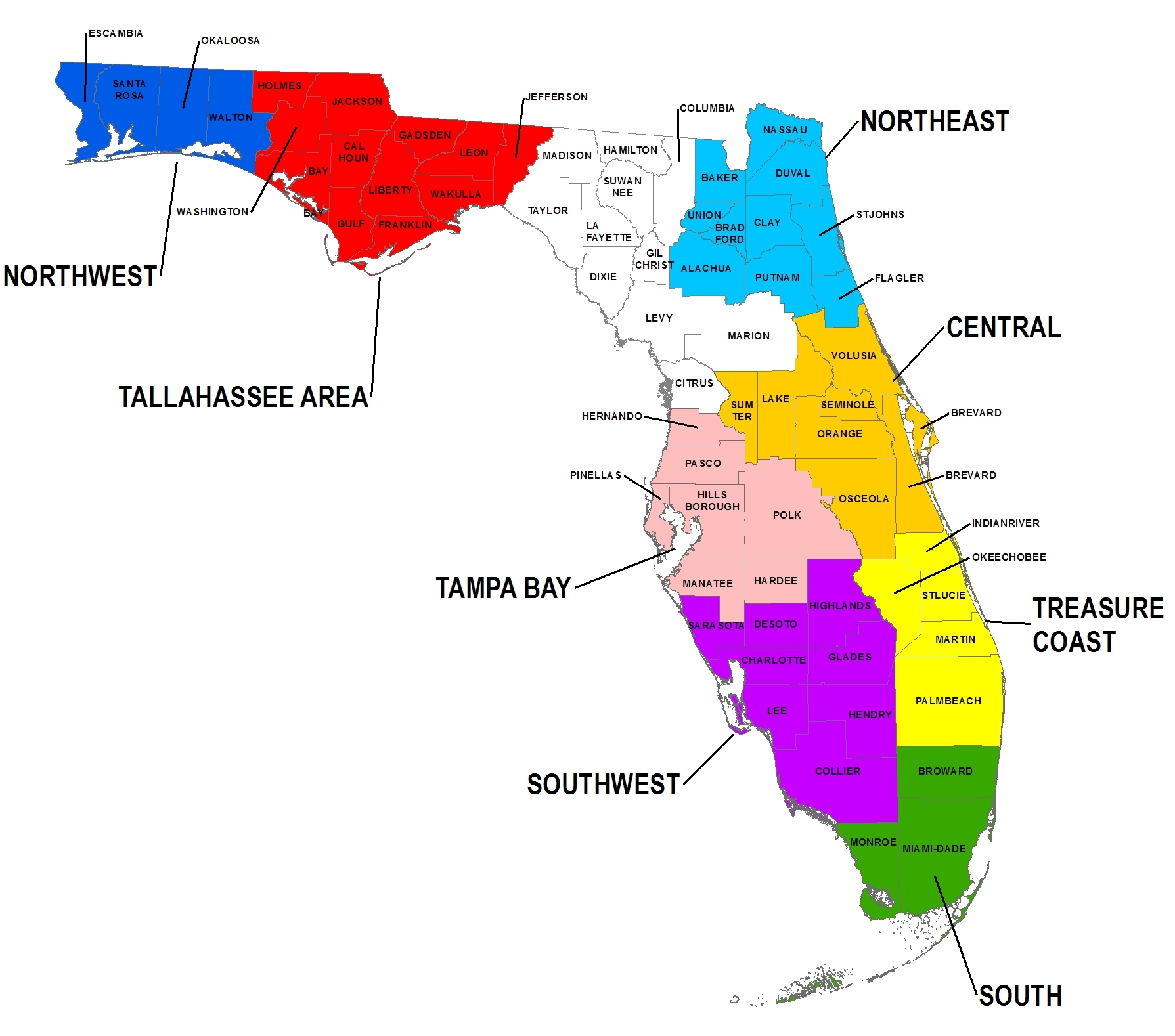 Free Florida Map Cliparts, Download Free Clip Art, Free Clip Art On - Free Florida Map