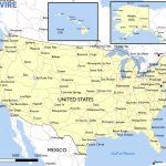 Free Maps Of The United States – Mapswire   Printable Map Of The Usa With States And Cities