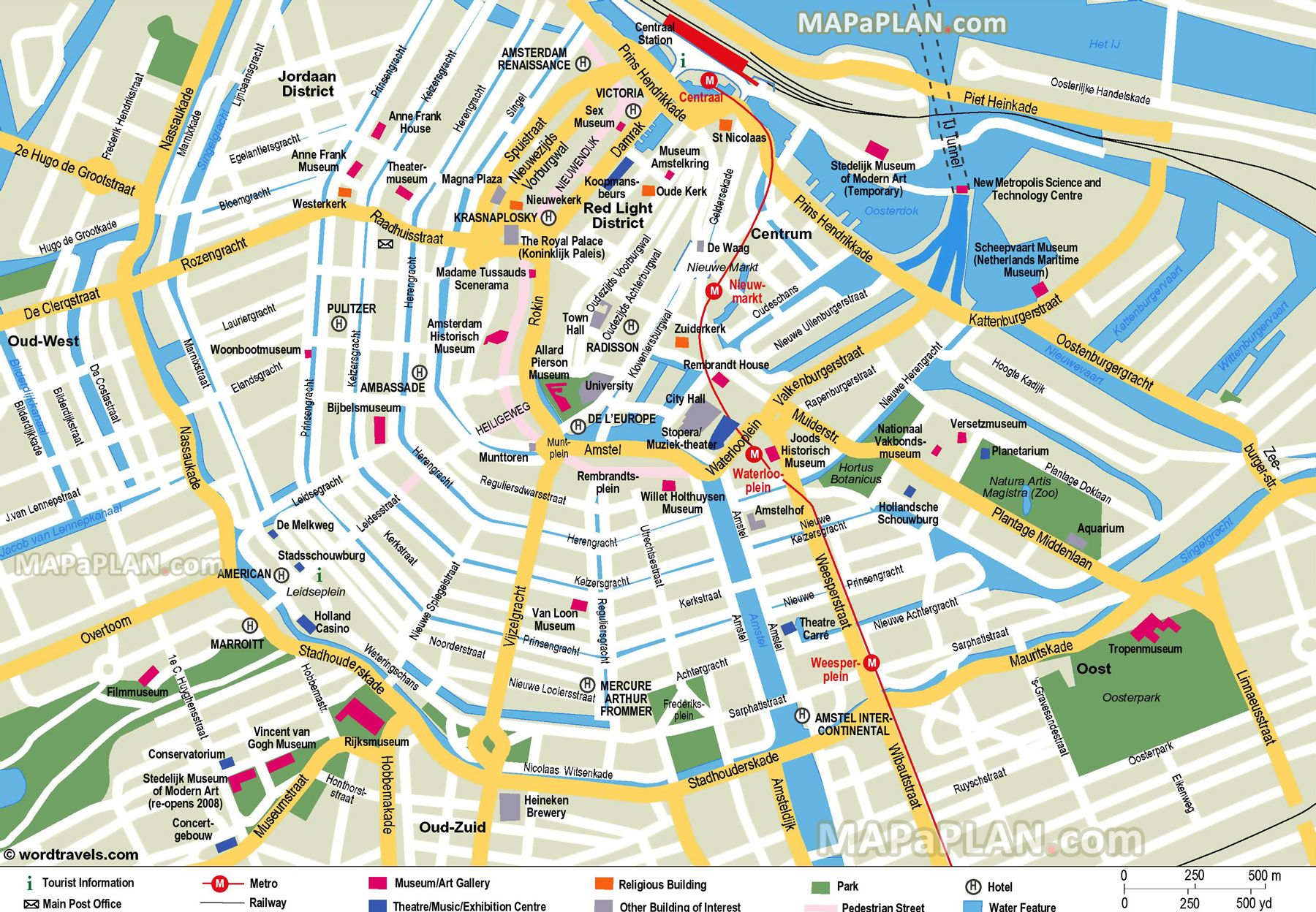 Free Printable Map Of Amsterdam - Google Search | Earth/environment - Printable Map Of Amsterdam