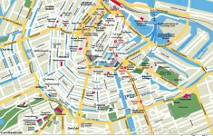 Free Printable Map Of Amsterdam – Google Search | Earth/environment – Tourist Map Of Amsterdam Printable