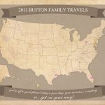 Free Printable United States Travel Map   United States Travel Map Printable