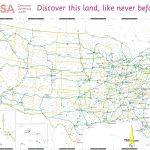Free Printable Us Highway Map Usa Road Map Elegant 10 Beautiful Free   Free Printable Road Maps Of The United States