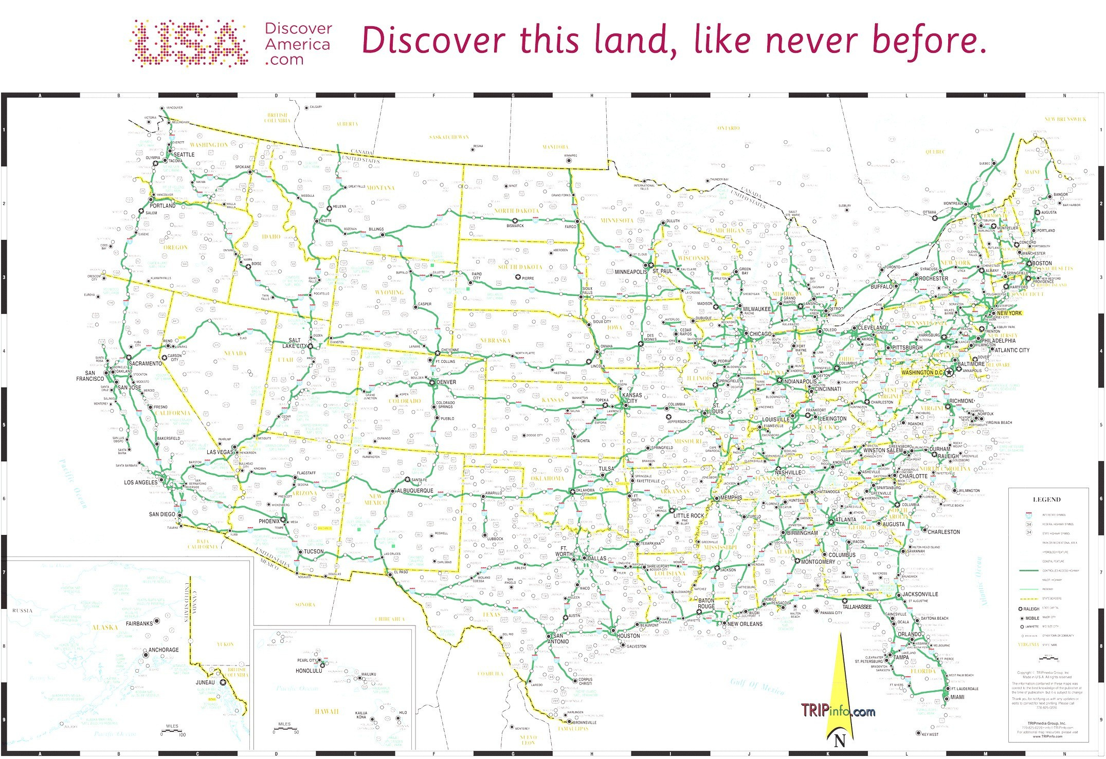 Free Printable Us Highway Map Usa Road Map Elegant 10 Beautiful Free - Free Printable Road Maps Of The United States