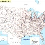 Free Printable Us Highway Map Usa Road Map Luxury United States Road   Free Printable Road Maps Of The United States