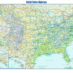 Free Printable Us Highway Map Usa Road Map Unique United States Road   Free Printable Road Maps Of The United States