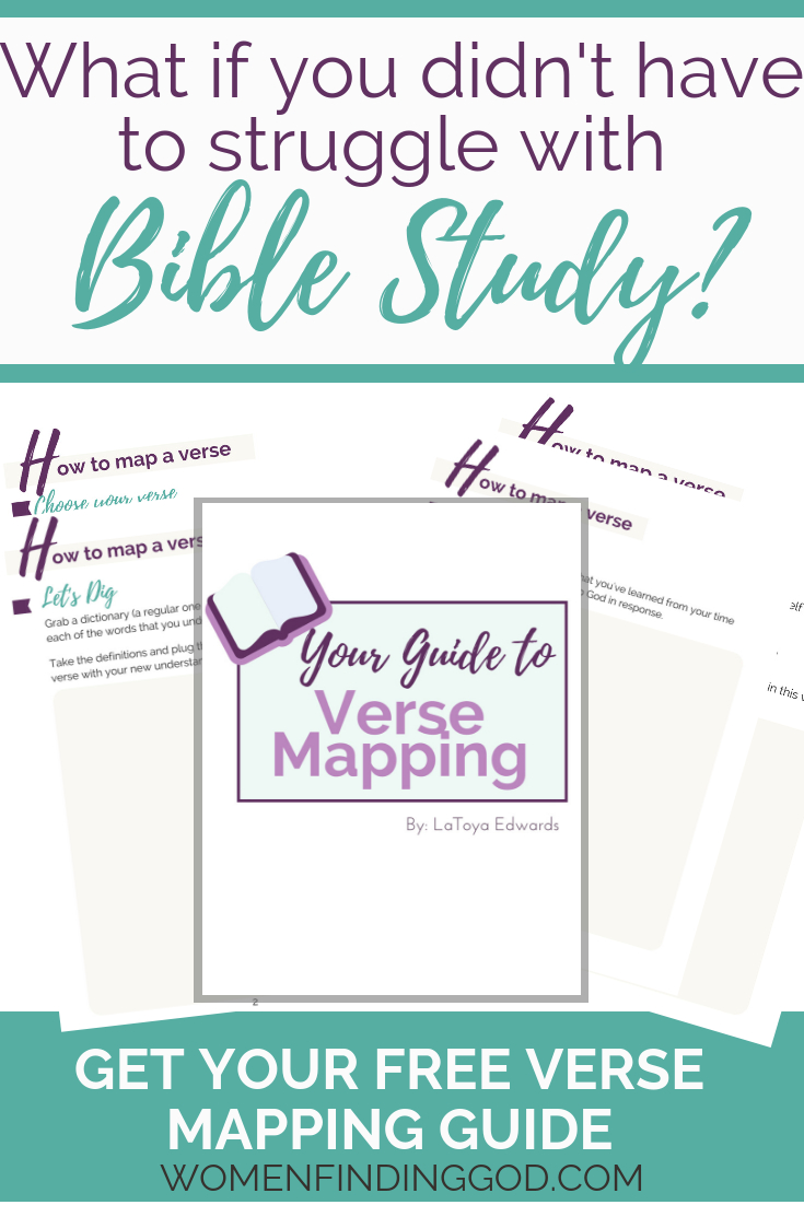 Free Printable Verse Mapping Bible Study Guide | How To Study The - Verse Mapping Printable