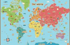 Free Printable World Map For Kids Maps And | Gary's Scattered Mind – Free Printable Road Maps For Kids