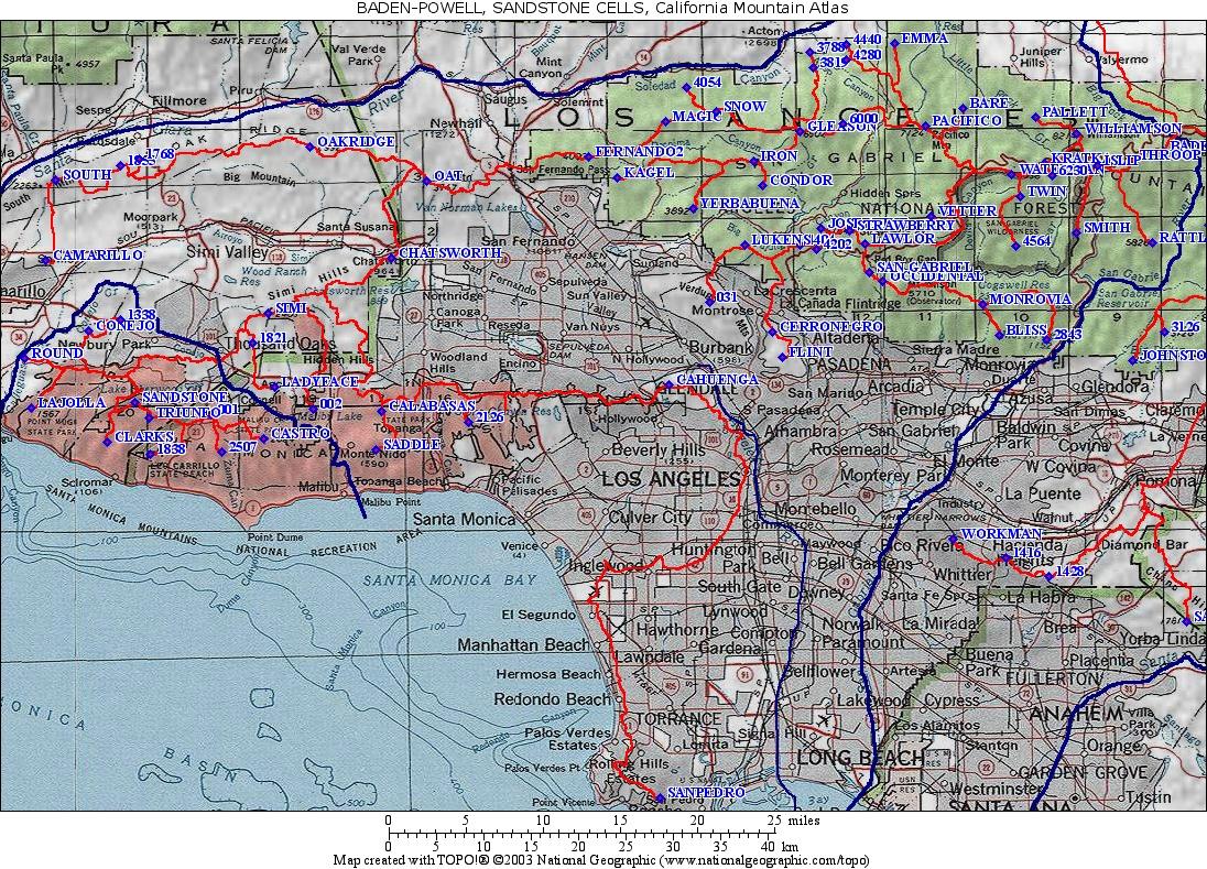 Freeway Map Southern California - Klipy - Southern California Road Map Pdf