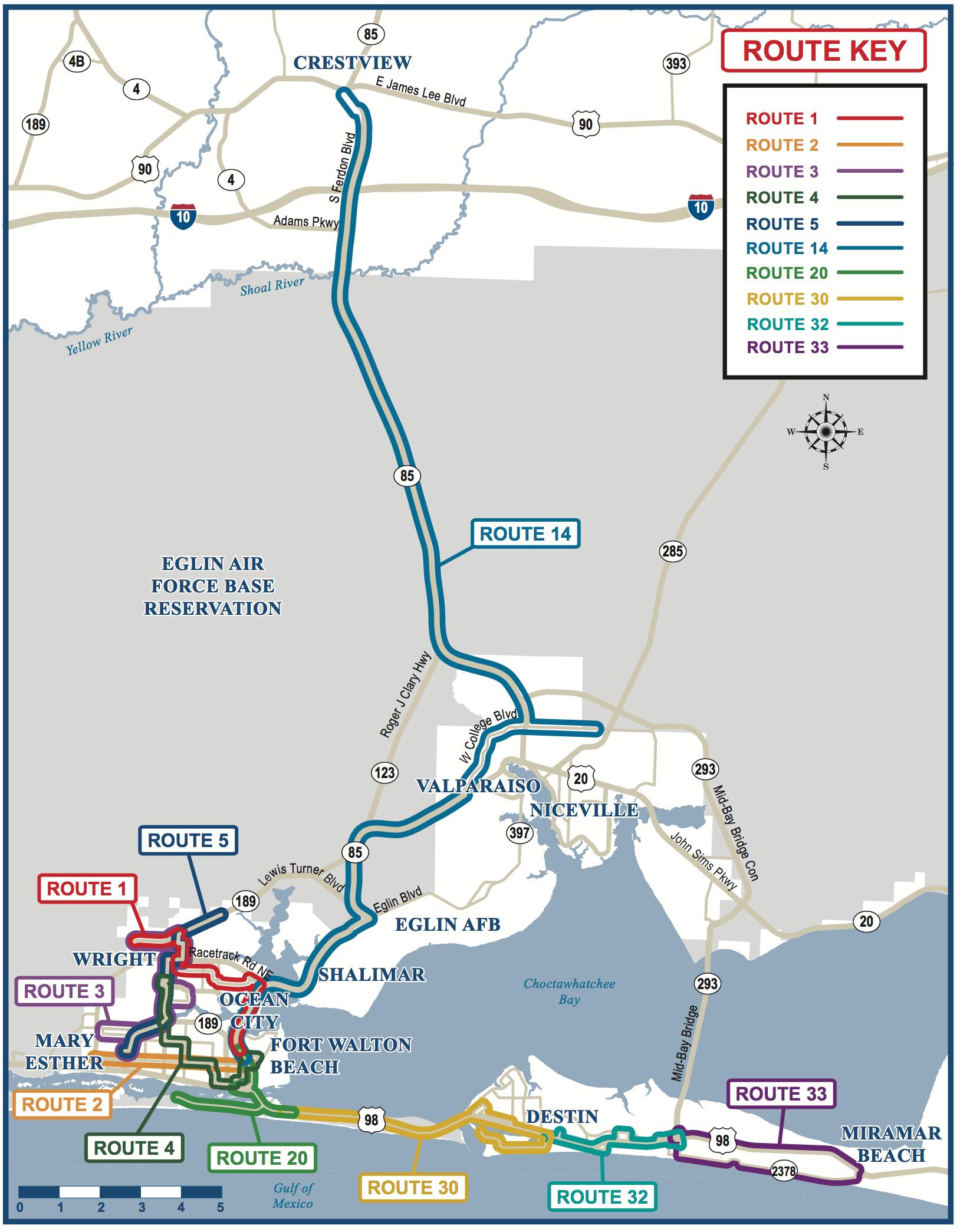 Fwb Wave Express Archives - Ec Rider - Niceville Florida Map