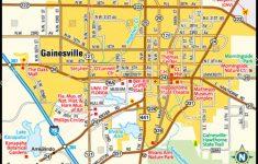 Gainesville Florida Area Map Stock Vector (Royalty Free) 144494338 – Where Is Gainesville Florida On The Map