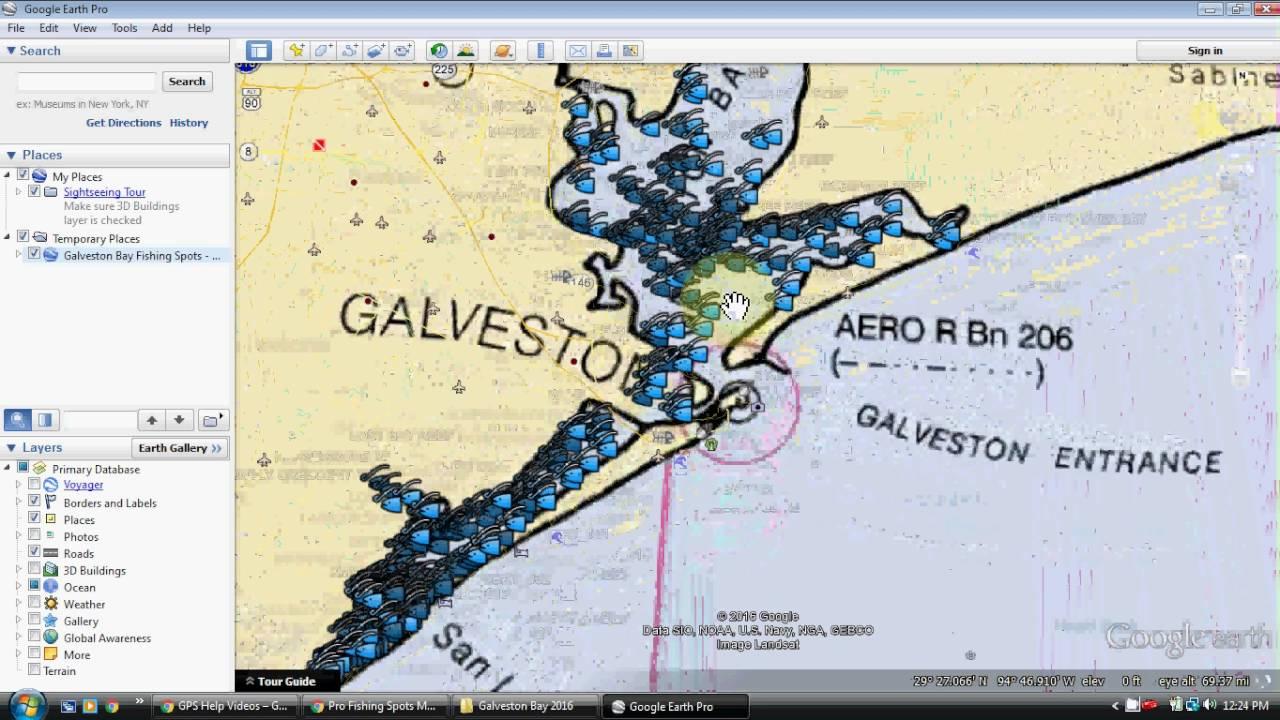 Galveston Bay Fishing Map - Youtube - Top Spot Fishing Maps Texas