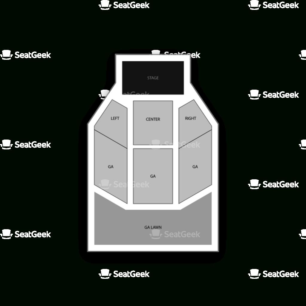 Garfield Park Seating Chart & Map | Seatgeek - Mid Florida Amphitheater Parking Map