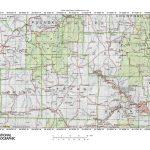 Gasconade River White River Drainage Divide Area Landform Origins In   Texas County Missouri Plat Map