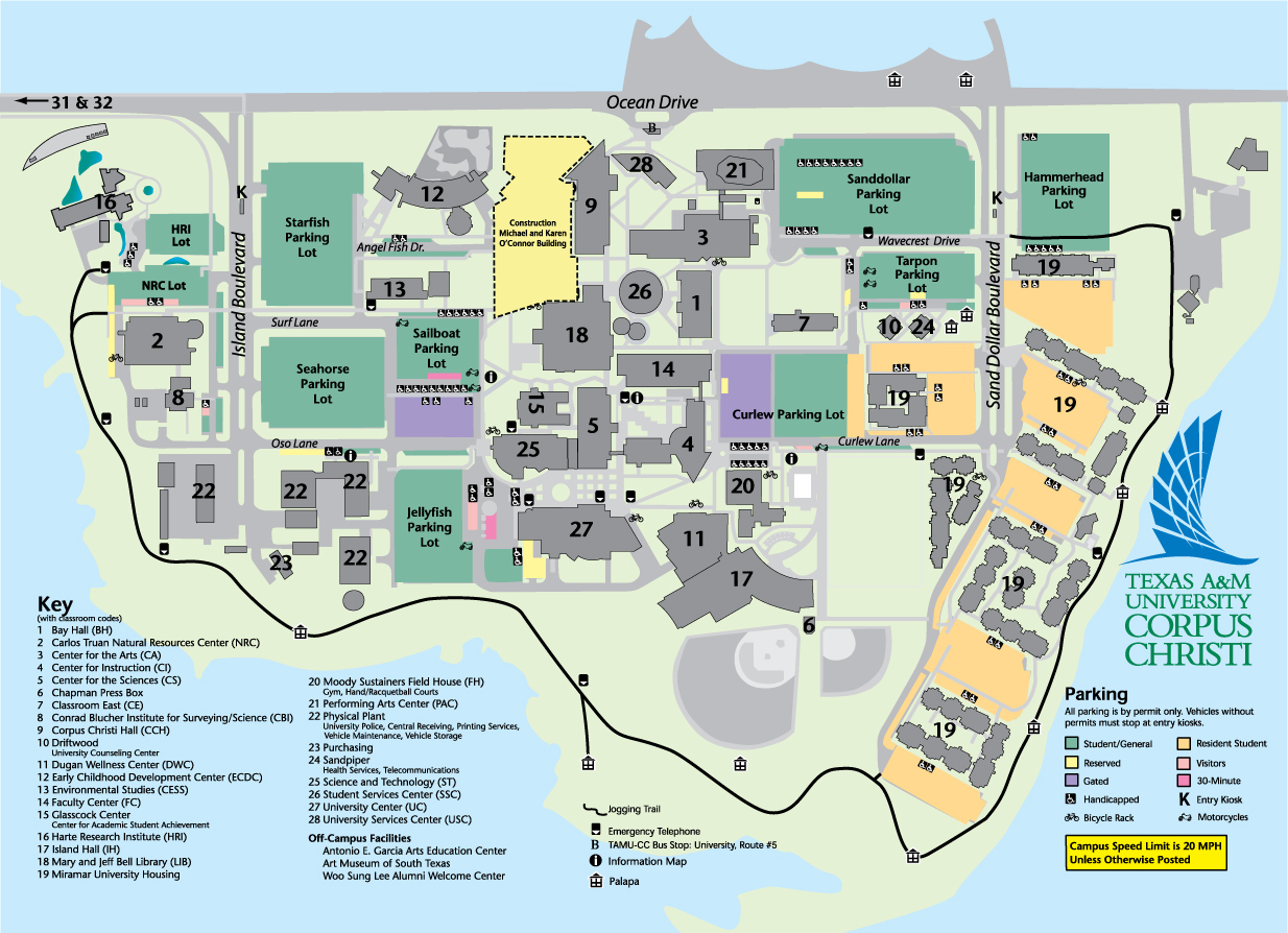 General Information - Texas A&m University Corpus Christi - Acalog Acms™ - Texas State University Housing Map