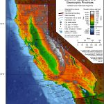 Geography Of California Google Maps California Southern California   Topo Map Of California