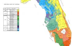 Geologic Map Of Florida, 1964 – Orange Florida Map
