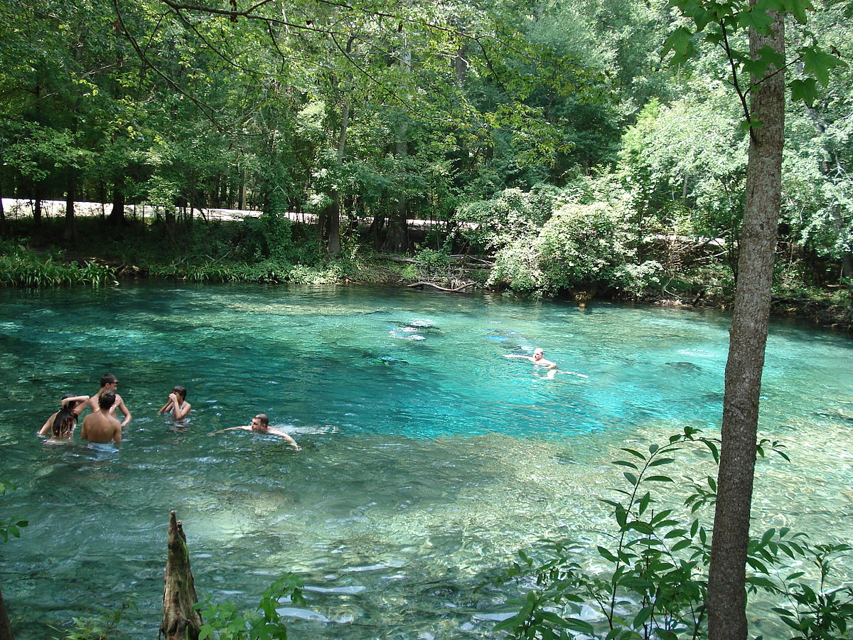 Ginnie Springs - Wikipedia - Ginnie Springs Florida Map