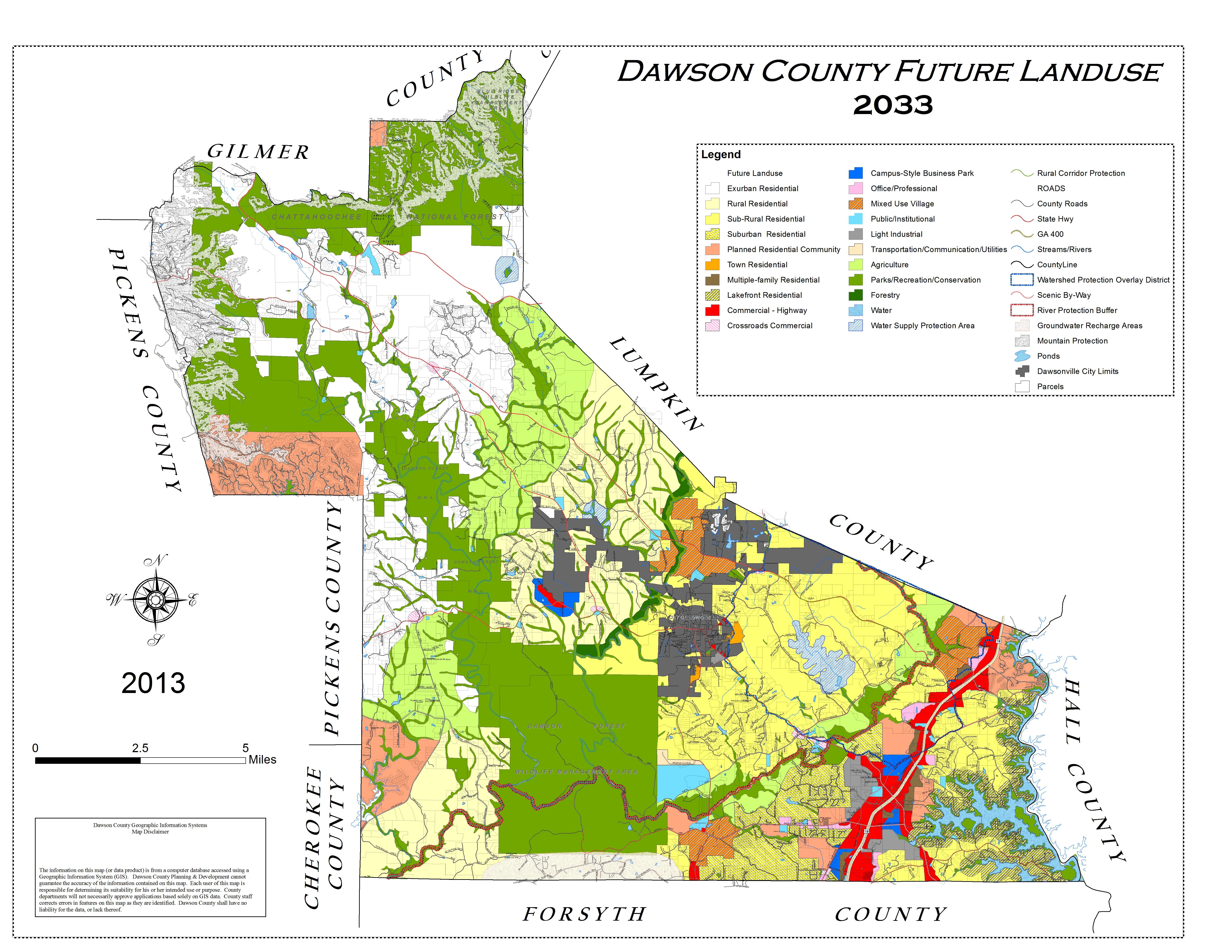 Gis - Dawson County - Texas Parcel Map