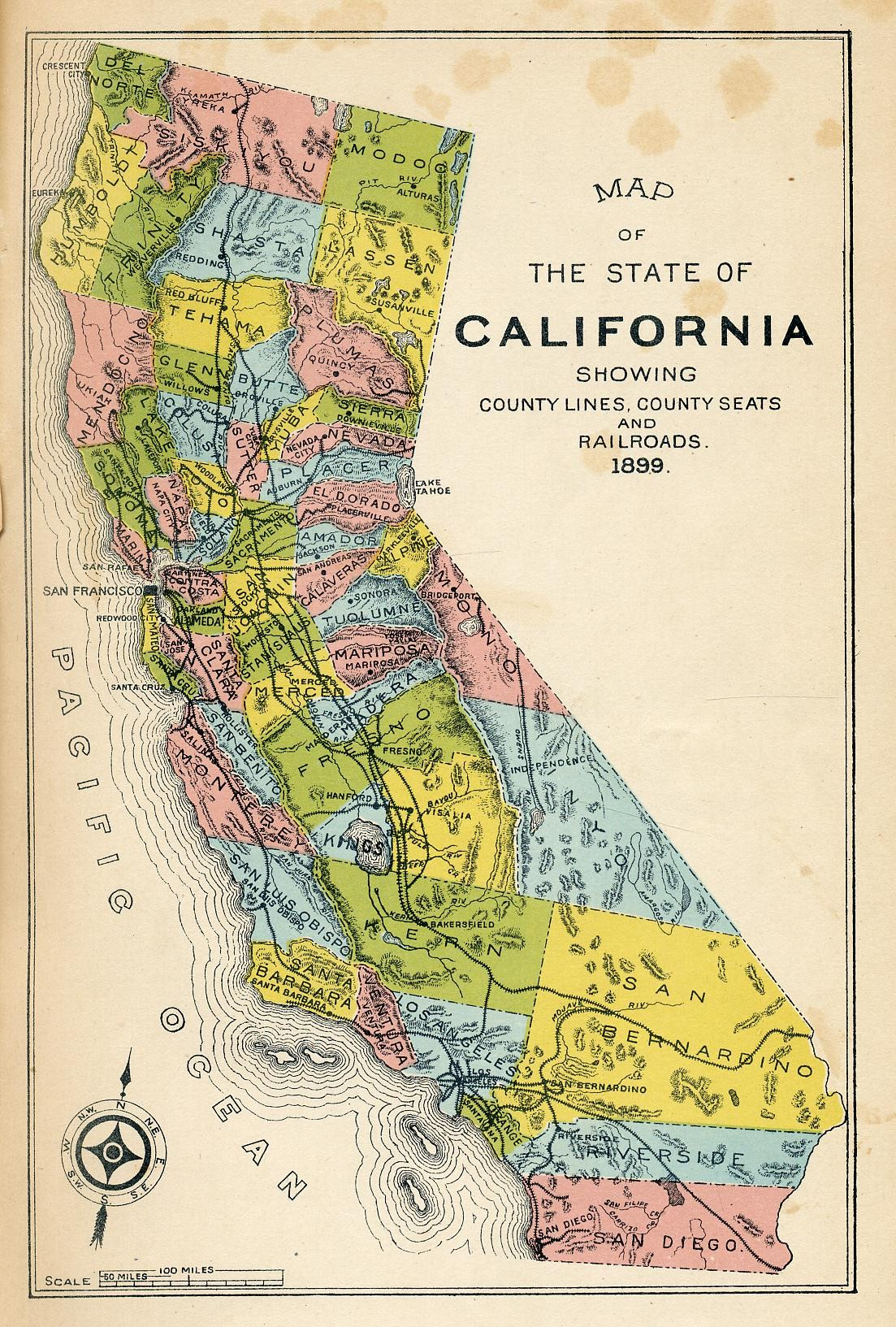 Gold Rush California Map | Indiafuntrip - Gold In California Map