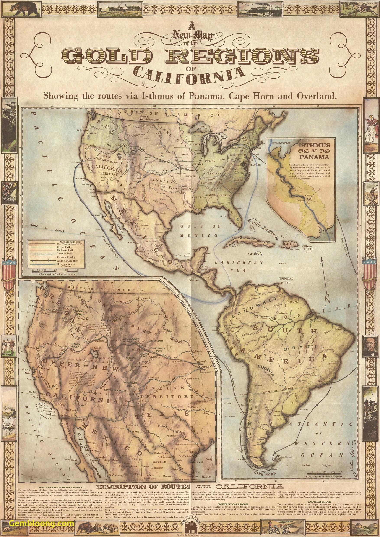 Gold Rush California Mapwebsite With Photo Gallerycalifornia - California Gold Rush Map