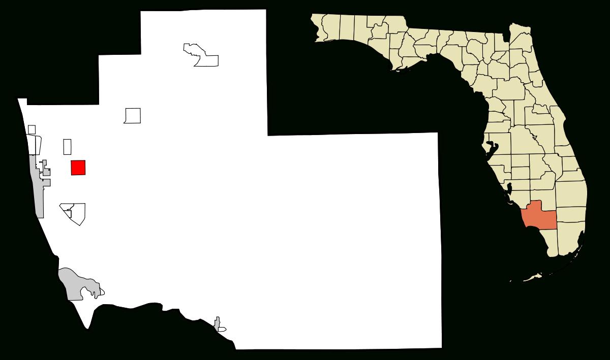 Golden Gate, Florida - Wikipedia - Golden Gate Estates Naples Florida Map