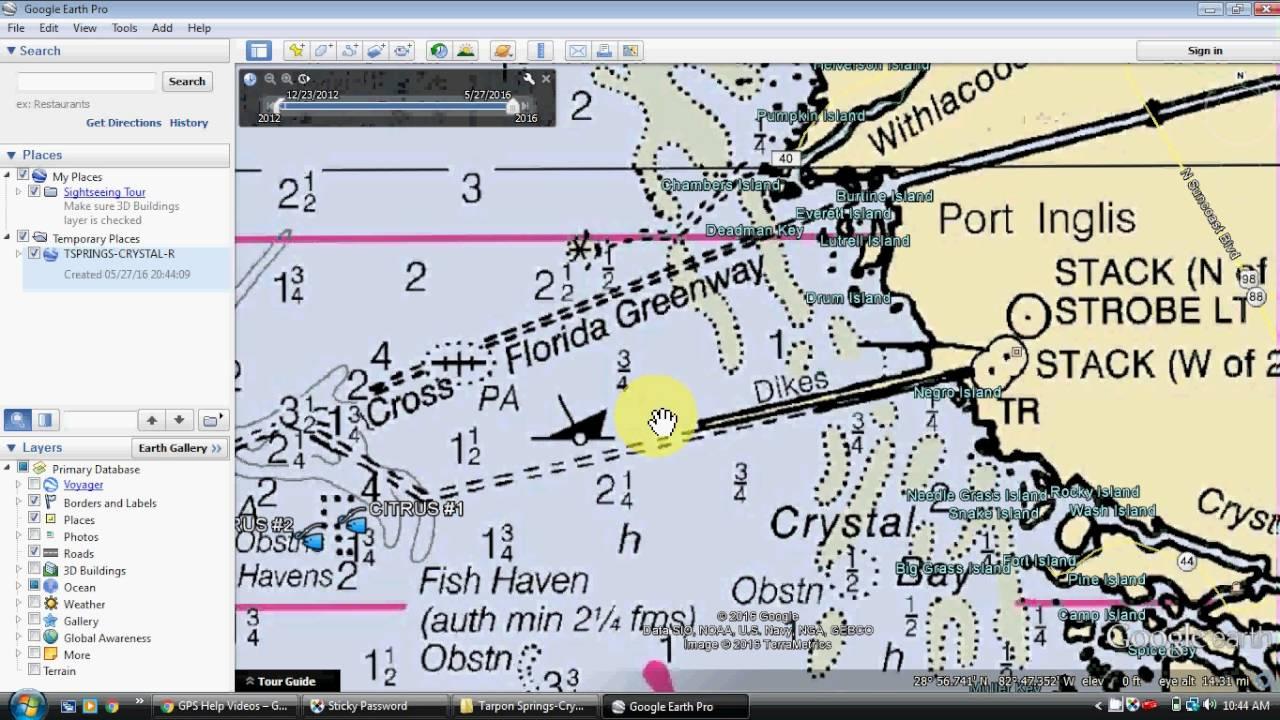 Google Earth Fishing Map - Youtube - Texas Fishing Maps Free