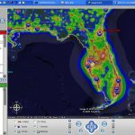 Google Earth   Light Pollution Map Florida