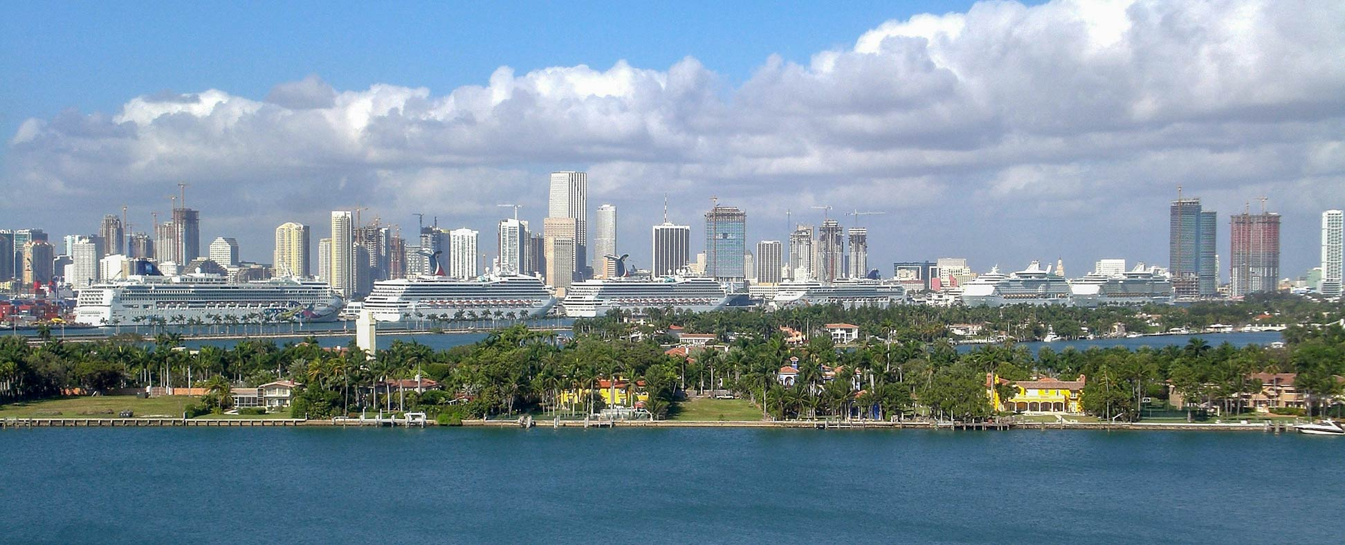 Google Map Of Miami, Florida, Usa - Nations Online Project - Google Map Miami Florida